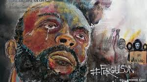 Ferguson shooting: Michael Brown protests inspire artist Howard Barry - BBC  News