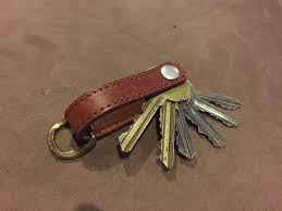how to make a clever leather key holder for just a few bucks