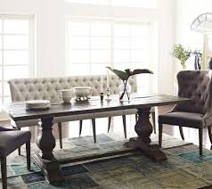 banquette dining room furniture. French Tufted Upholstered Dining Bench Banquette Room Furniture