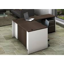 Contemporary office reception Ceiling Office Reception Desk Collaboration Center 3piece Group Contemporary Whiteespresso Color To Update Your Space Home Depot Ofislite Office Reception Desk Collaboration Center 3piece Group