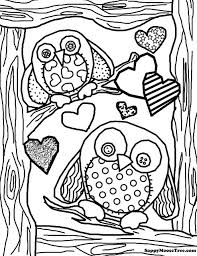 Small Picture cute owl coloring page wwwmindsandvinescom