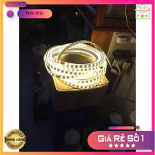 HÀNG TỐT ] ĐÈN LED DÂY ĐÔI 2835 COMBO 10M + 1 NGUỒN - 2 HÀNG LED - IP65  Chịu nước(trắng,vàng) tốt giá rẻ