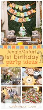 Best 25+ Jungle theme parties ideas on Pinterest | Jungle theme baby  shower, Zoo theme parties and Animal themed birthday party
