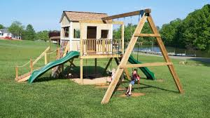 Swing Set Designs Diy How To Build A Swing Set For The Playhouse Ana White