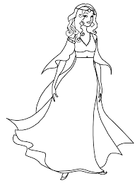 Pretty Coloring Pages For Girls Cute Girl Colouring Pages Cute Girl