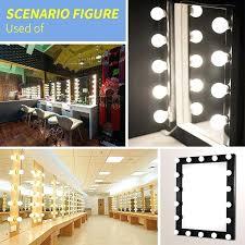 light bulbs for vanity mirror makeup led mirror light 6 10 14 bulbs vanity light kit