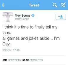 Trey songz is bisexual
