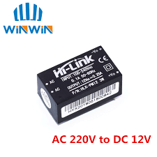 HLK PM12 AC <b>DC 220V to 12V</b> Buck Step Down Power Supply ...