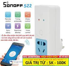 Shop bán Ổ cắm điện thông minh Sonoff S22, điều khiển từ xa qua WIFI, 3G,  4G giá chỉ 164.000₫