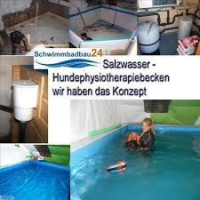 Eine alternative zur pool treppe stellt die pool leiter dar. Hunde Physiotherapie Salzwasserschwimmbad Ca 3 X 4 M X 1 2 M Tief In Schwimmbadbau24