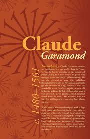 Garamond Designer Type Designer Poster Garamond Typography Poster