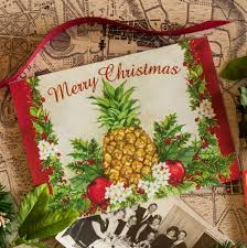 Christmas Cards Images Colonial Williamsburg Holiday Pineapple Christmas Cards