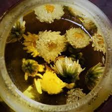 baby chrysanthemum flower tea