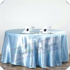 90 inch round tablecloth clearance colorful baby blue satin tablecloths table covers