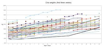 Average Baby Weight Uk Chart Alpaca Cria Data Birth Weight Weight Gain And Gestation