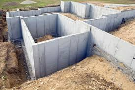 painting exterior concrete foundation walls lovely types of house foundations