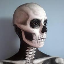 skull face painting best 10 skull face paint ideas on sugar skull face