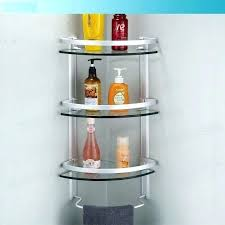 Glass Corner Shelves Uk Glass Shelves In Shower Shower Shelves Corner Aluminum 100 Tier 64