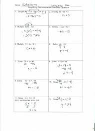 one and two step equations worksheets kindergarten 2 with fractions worksheet solving linear ideas pdf