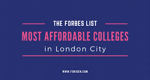 List Of Most Affordable Universities In London Forigen