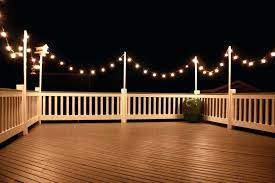 outdoor deck lighting ideas pictures led solar ligh