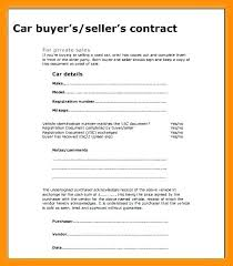 Used Car Sale Agreement Template Used Car Bill Of Sale To Download Contract Form Sold Rental