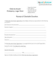 sponsorship receipt template gift in kind charitable donation form nz templates for powerpoin