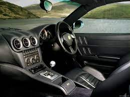 The interior of the 575m maranello has been extensively revised including the dashboard and centre tunnel. Ferrari 575m Maranello 2002 Pictures Information Specs
