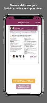 What Is Birth Plan Birth Plan Plus On The App Store