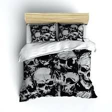 skull bedding queen fleece grunge skull bedding dirty design men s regarding duvet cover idea 9 skull bedding