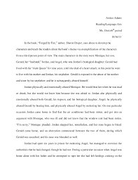 forged by fire essay assignment