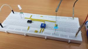 Light Sensor Using Ic 741 Light Detector Using Ldr