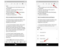 How To Add Footnotes In Google Docs Techrepublic