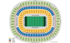Baltimore Ravens Home Schedule 2019 Seating Chart