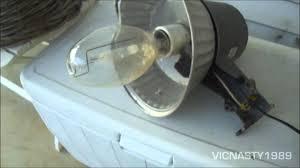 regent 175w h39 mercury vapor area light circa 1997 you