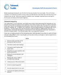7 Employee Self Assessment Samples Examples In Word Pdf