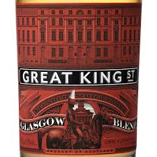 accessories glasgow box:  compass box great king street glasgow blend scotch whisky