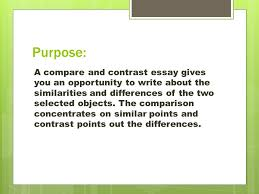 compare contrast expository essay ppt video online  compare contrast expository essay 2 purpose