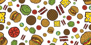 cheeseburger pattern. Delighful Cheeseburger Because  With Cheeseburger Pattern T