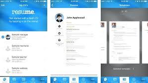 Modern Resume App Best Resume Builder App Free Download For Mac My Breathelight Co