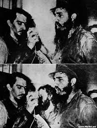 when carlos frank in the middle of the photo quarrels fidel  when carlos frank in the middle of the photo quarrels fidel castro and