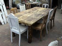 Tolle Großer Tisch Für 8 Personen Aus Alten Bohlen Ideen über