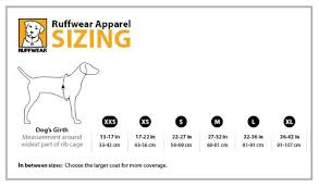 Ruffwear Harness Size Chart Ruffwear Swamp Cooler Evaporative Dog Cooling Vest Compatible With Harnesses