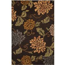 sams international lifestyle seneca chocolate 5 ft x 8 ft area rug