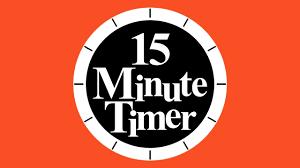 Timer For 15 Min 15 Mins Timer Rome Fontanacountryinn Com