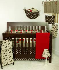 baby crib bedding houndstooth