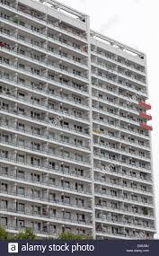 Facade Of Modern Apartment Buildings In Berlin Germany Stock - Modern apartment building facade