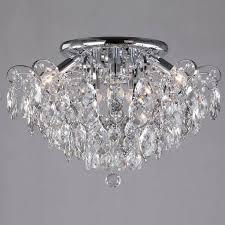 <b>Потолочная люстра</b> Eurosvet <b>Crystal</b> — купить по цене 25126 руб ...