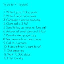 How To Shorten Your To Do List By Making Three Britt Bravo