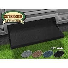 prest o fit outrigger rv step rug black 23 nt04 0305 rv